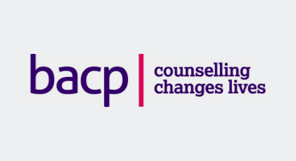 The British Association for Counselling and Psychotherapy logo.