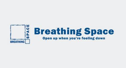 Breathing Space logo.