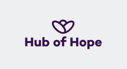 The Hub of Hope logo